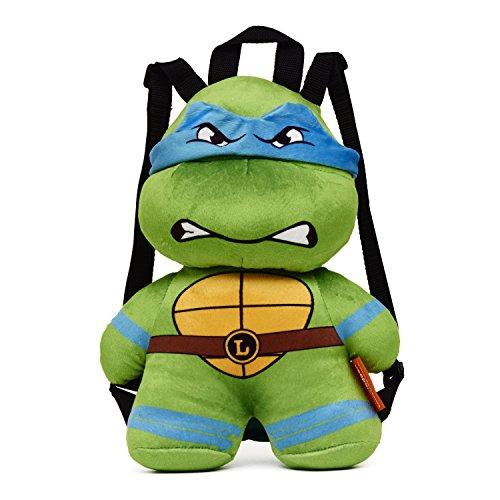 [Teenage Mutant Ninja Turtle Leonardo Plush Backpack - One Size] (Plush Turtle Kids Costumes)