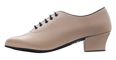 34f23264ae787 Katz Dancewear Ladies Lace Up Practice Showtime Stage Ballroom Jive Cerco  Line Dance Shoes