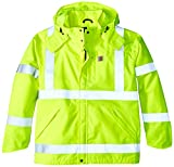 Product review for Carhartt Men's Big & Tall High Visibility Class 3 Waterproof Jacket