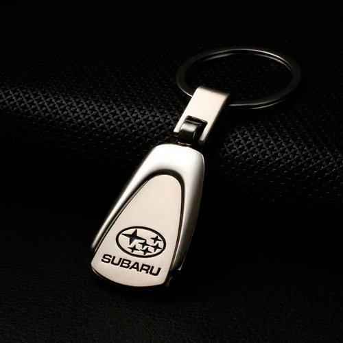 Champled Subaru Emblem Keychain Keyring Logo Symbol Sign Badge Personalized Custom Logotipo Quality Metal Alloy Nice Gift For Man Woman