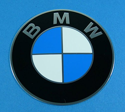 Cap Decal Sticker (BMW Genuine Wheel Center Cap Emblem Decal Sticker 70mm)