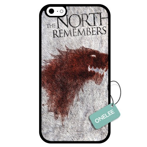 Onelee - Customized Game of Thrones TPU Case Cover for Apple iPhone 6 - Black 03
