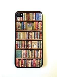 Hobbies Bookshelf iphone 5s Case - For iphone 5s- Designer PC Case Verizon A...