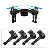 #7: BTG Upgrade Extended Landing Gears Height Legs with Springs for DJI Spark Drone, Safe Landing Stabilizers Shockproof Gimbal Protector