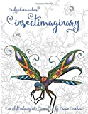 Ruby Charm Colors Insectimaginary: An Adult Coloring Art Journal