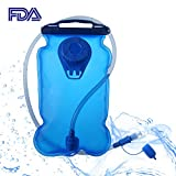 Swamerfa Water Bladder | Leakproof Hydration Pack Water Bag Reservoir for Camping Hiking Cycling Climbing Running Backpack,2L/3L