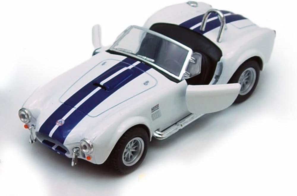1965 AC Shelby Cobra 427 S//C Blue Welly 1:34 Scale Toy Model Car Series 43761