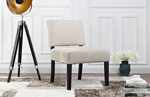 Amazon.com: Silla de salón moderna y elegante de tela de ...