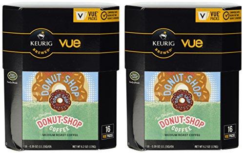 The Original Donut Shop Coffee Keurig Vue Pack, 32 Count (Coffee Vue Keurig compare prices)