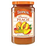 Tropical Preserves, Peach, 18 Ounce (Pack of 12)