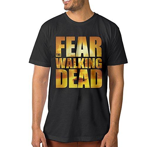 Fashion Men's American Horror Drama TV Series Shirt Black Size 3X
