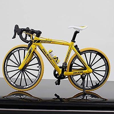 LAWARY 1:10 Escala Diecast Metal Mini Bicicleta Modelo Realista ...