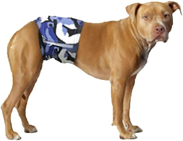 POPETPOP Fundas de Vientre para Perros Pa/ñales Vientre Lavables y Reutilizables para Perros Macho Gatos y Otros Animales Peque/ños Tama/ño XS 3 Piezas