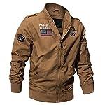 Militaire Tactique Manteau de Veste de l'armée Pilote Jackets Air Force Flight Cargo Coat 12