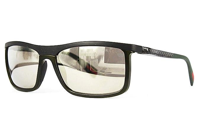 589a64886e0f6 PRADA SPORT Sunglasses PS 51PS ROS1C0 Military Green Shiny 58MM ...