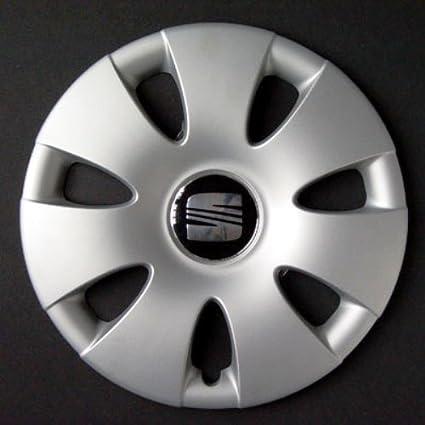 Wheeltrims - Conjunto de 4 tapacubos para Seat Ibiza 2002 ...