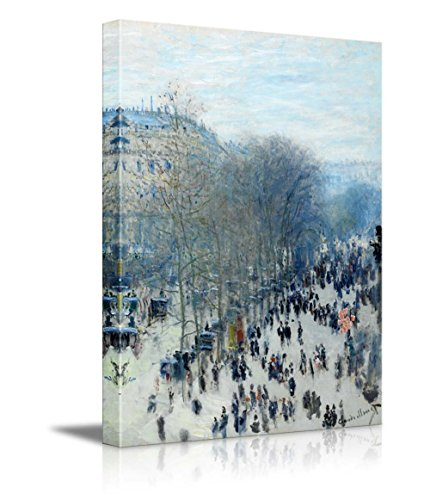 wall26-claude-monet-boulevard-des-capucines-impressionist-modern-art-canvas-art-home-decor-24x36-inc