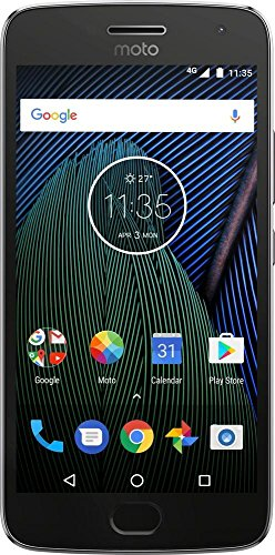 Motorola Moto G5 XT1676 - 4G Dual Sim 16GB 3GB RAM- Factory Unlocked Smartphone - International Version (No USA warranty) - Gray by Motorola
