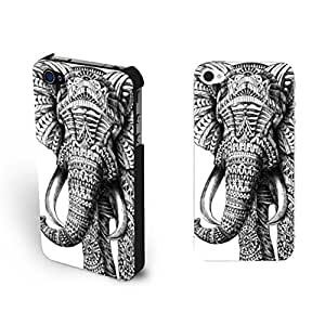 Pretty Cool Indian Tribal Pattern Elephant 4 Protective Cases Personalized Hipster Diy For SamSung Note 3 Case Cover Cute Animal Cases