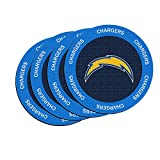 NFL San Diego Chargers Neoprene Ring of Honor Coasters, Set of 4