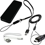 portable thin pocket sized USB power 5W charge port travel charger 1 Amp output 12Wh (1-2 charges) battery capacity designed for the Garmin dezl 570 LMT