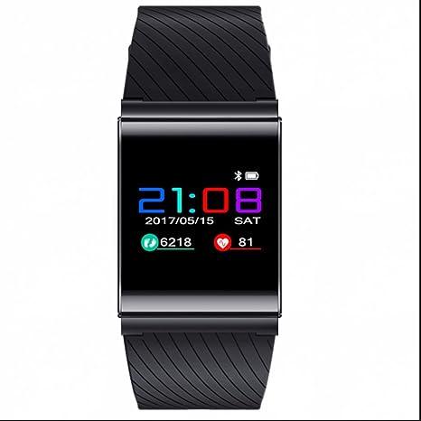 Sport Watch reloj profesional podómetro Smartwatch Frecuencia Cardíaca y tensiómetro Soporte llamadas SMS SNS sentada Alarma