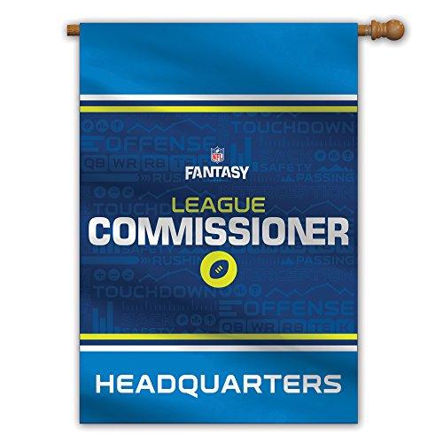 Fremont Die NFL Fantasy Football Domestic House Flag, Commissioner, 28