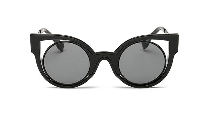6153afade9ca GAMT Retro Aviator Sunglasses Polarized HD Lens UV400 Black frame gray
