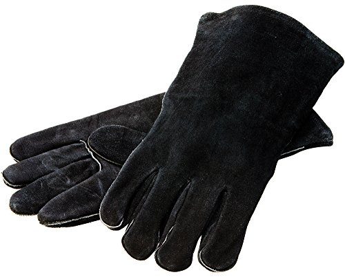 Lodge Leather Outdoor Cooking Gloves product image
