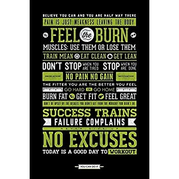Amazon.com: Laugh More Be Awesome Motivational 24x36 Poster Art ...