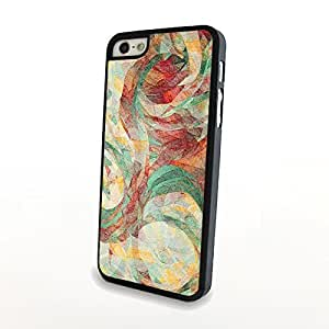 Luxury Art Blossoms for iPhone 5/5s Plastic Cover Carrying Case Matte Protector Hard Shell Unique and Vintage - Can Customize Model and Pattern