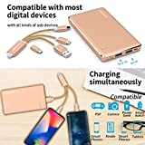 AMENER Office Desk Supplies Electronic Kit 10000mah Power Bank+Wireless Mouse+32GB Flash Driver+Charger Cables Customized Business Gift Set Birthday Christmas Ideal Gift