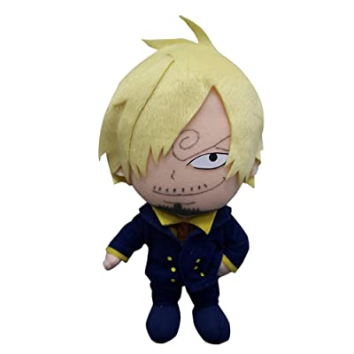 "Great Eastern One Piece 7.5"" Sanji Plush Toy: Toys & Games"