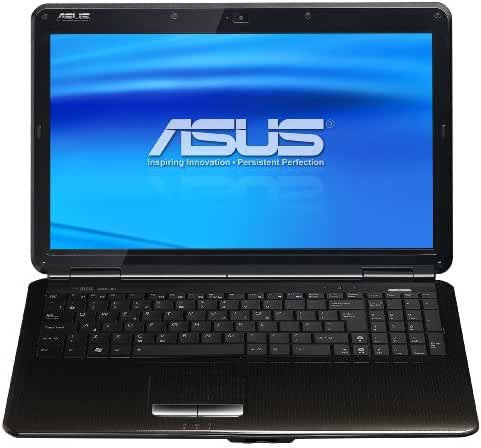 ASUS K50IJ-H1 16-Inch Laptop (2.2 GHz Intel Pentium T4400 Processor, 4GB DDR2, 4GB, 320GB HDD, Windows 7 Home Premium) Black