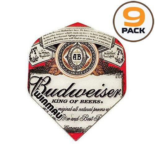 Art Attack 9 Pack Winmau Mega Budweiser King of Beers 75 Mic