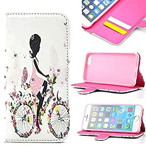 iPhone 6 Case, iPhone 6 Flip Case **Ezydigital Carryberry Leather Folio Wallet Case(AT&T, T-Mobile, Sprint, Verizon, International Unlocked) Cover for iPhone 6 (5.5 inch)