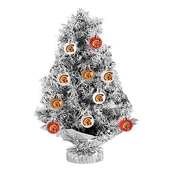 Amazon.com: USC Trojans 11-pc. Tabletop Tinsel Christmas Tree and ...