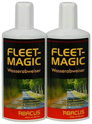 FLEET MAGIC 2 x 250 ml Scheibenversiegelung Wasserabweiser Regenabweiser
