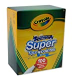 Image of Crayola Super Tips Washable Markers (100 Count)