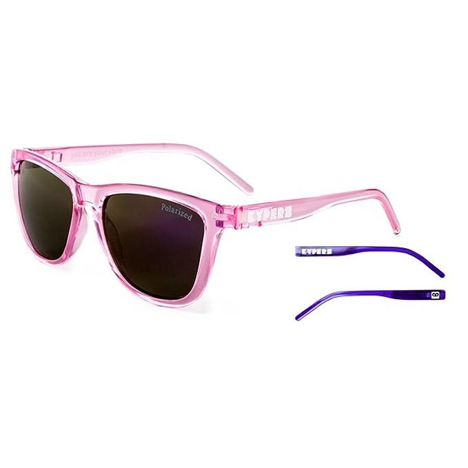 KYPERS Caipirinha Gafas de sol, Clear Pink/Purple Mirror, 54 ...