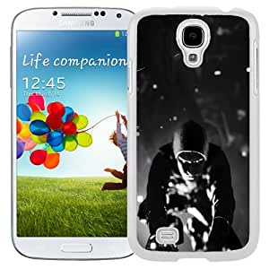 Beautiful Unique Designed Samsung Galaxy S4 I9500 i337 M919 i545 r970 l720 Phone Case With Infamous Second Son Black And White_White Phone Case