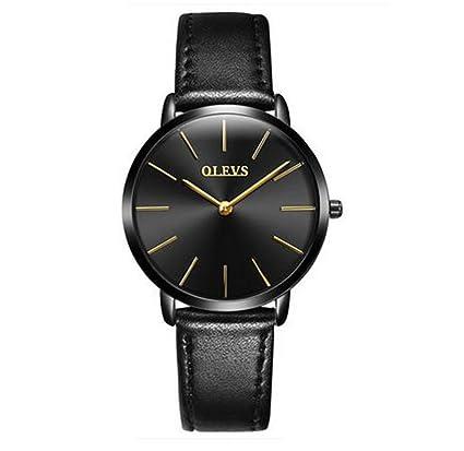 DSADDSD # Reloj Digital Impermeable para Hombre Relojes genuinos de sección Delgada Reloj Masculino y Femenino