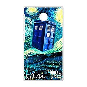 Bohemian beat Starry night scenery Cell Phone Case for Nokia Lumia X