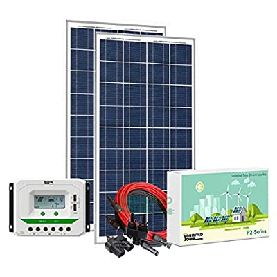Unlimited Solar P3 Series 320 Watt 12 Volt Off-Grid Solar Panel Kit