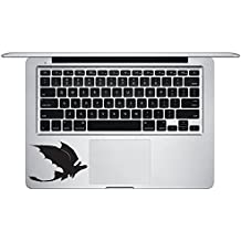 Hiccup And Toothless Trackpad Macbook Laptop Decal Vinyl Sticker Apple Mac Air Pro Retina Laptop sticker