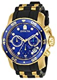 Invicta Men's 17882 Pro Diver 18k Gold Ion-Plated Stainless Steel...