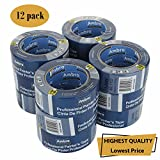 Ambro Professional Painters Tape Multi Surface Use (Blue) (12 pack, 2 inches x 60 yds)
