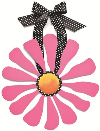 Embellish Your Story Pink Flower Magnetic Wall Art - Embellish Your Story Roeda 100888-EMB (A Word That Starts With J)