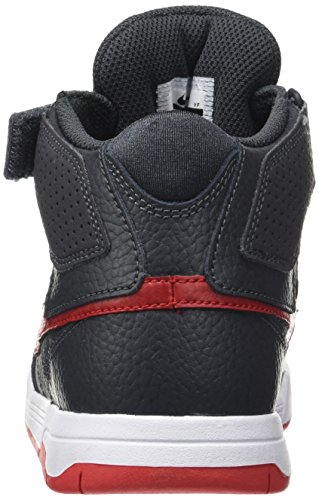 ... Nike Barna Mogán Mid To Jr Rullebrett Sko Antrasitt / Universitet Rød /  Hvit ...