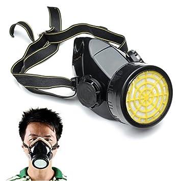 Mascarilla de, essort Máscara Carbón Activo polvo Protección Química lackierer Vapores, anti de polvo